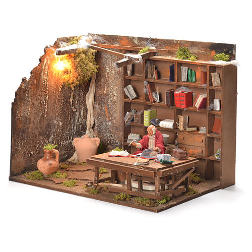 Bookshop, Neapolitan Nativity 12cm 3