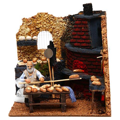 Baker, 10cm for Neapolitan Nativity 1