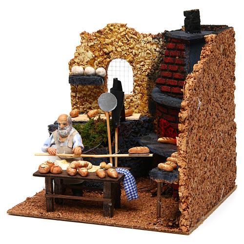 Baker, 10cm for Neapolitan Nativity 2