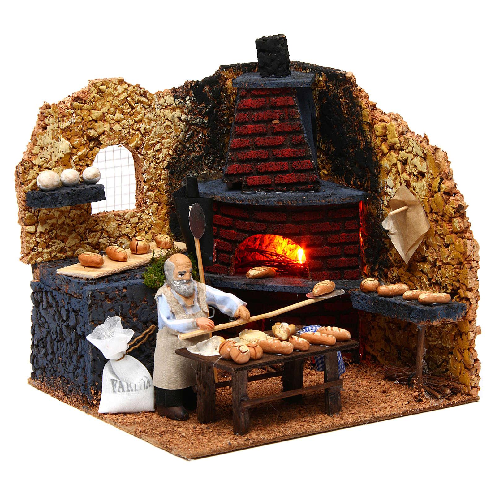 Baker, 10cm for Neapolitan Nativity 4
