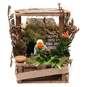 Figuras em Movimento para Presépio: Florista movimento presépio 7 cm