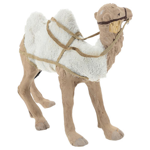 Animated camel 24cm Neapolitan Nativity 8