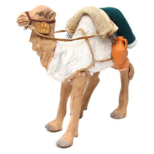 Animated camel 24cm Neapolitan Nativity 2