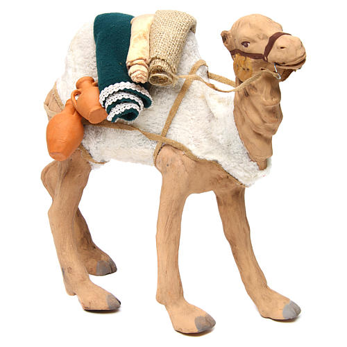Animated camel 24cm Neapolitan Nativity 3