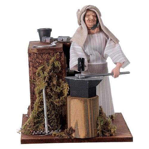 Arabian smith, animated nativity figurine, 12cm 1