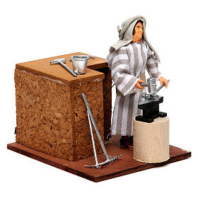 Arabian smith, animated nativity figurine, 12cm s3