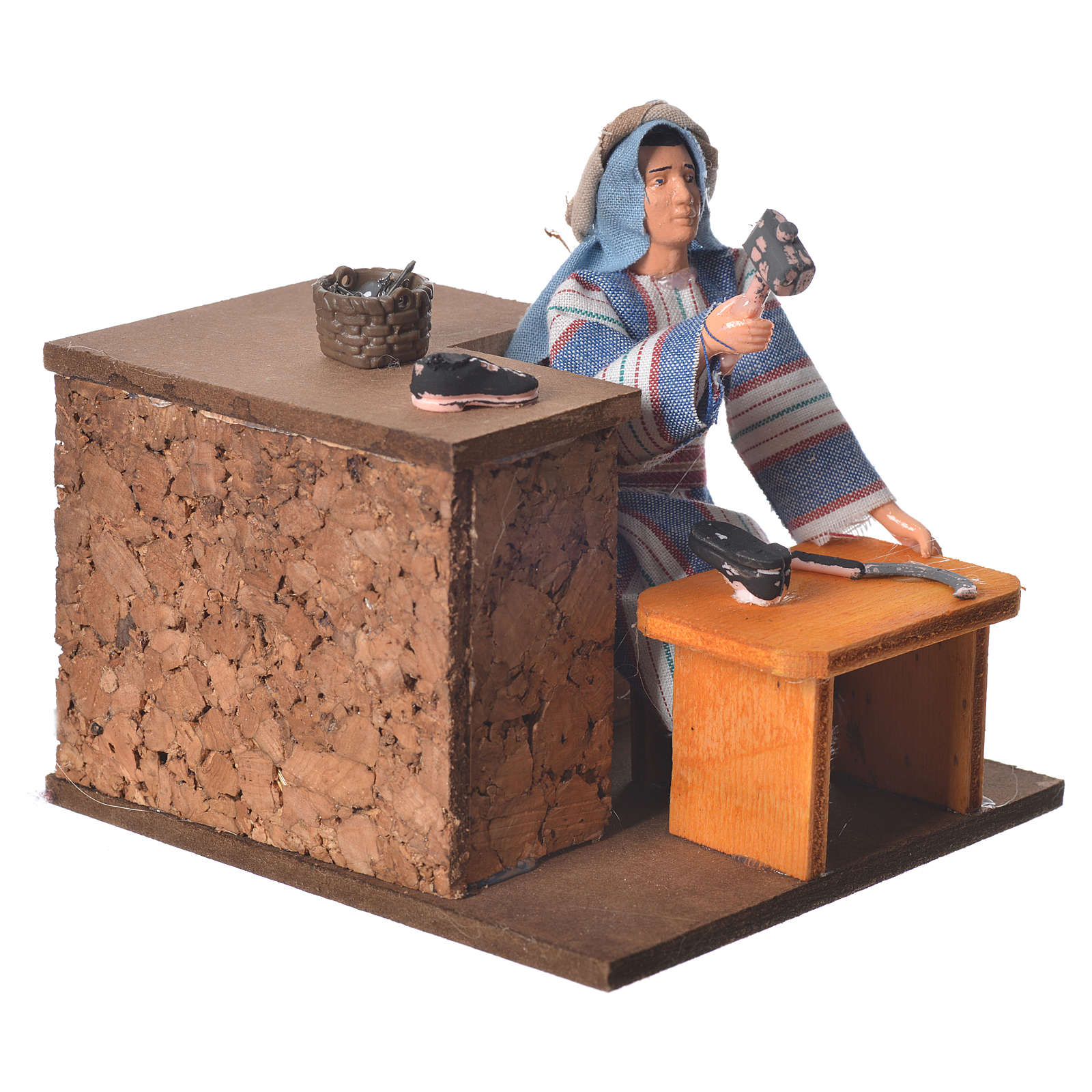 Arabian shoemaker, animated figurine 12cm 3