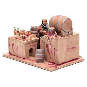 Wine maker, animated Neapolitan Nativity figurine 12cm s2