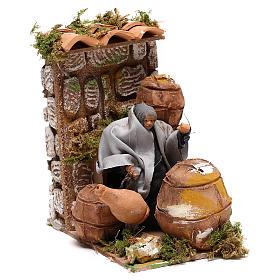 Animated nativity figurine 10cm Cooper s7