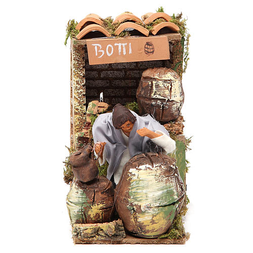 Animated nativity figurine 10cm Cooper 1