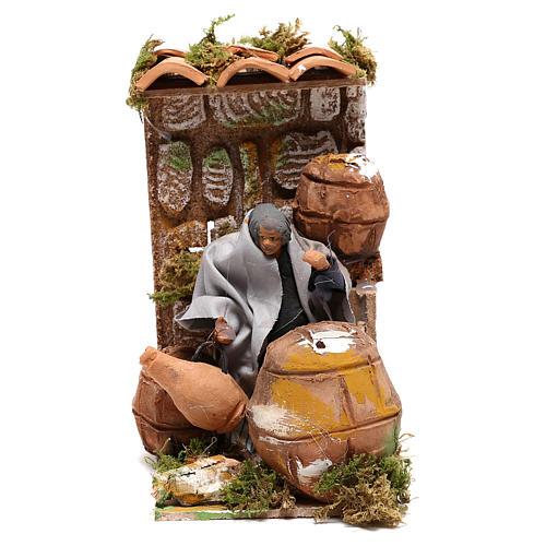 Animated nativity figurine 10cm Cooper 5