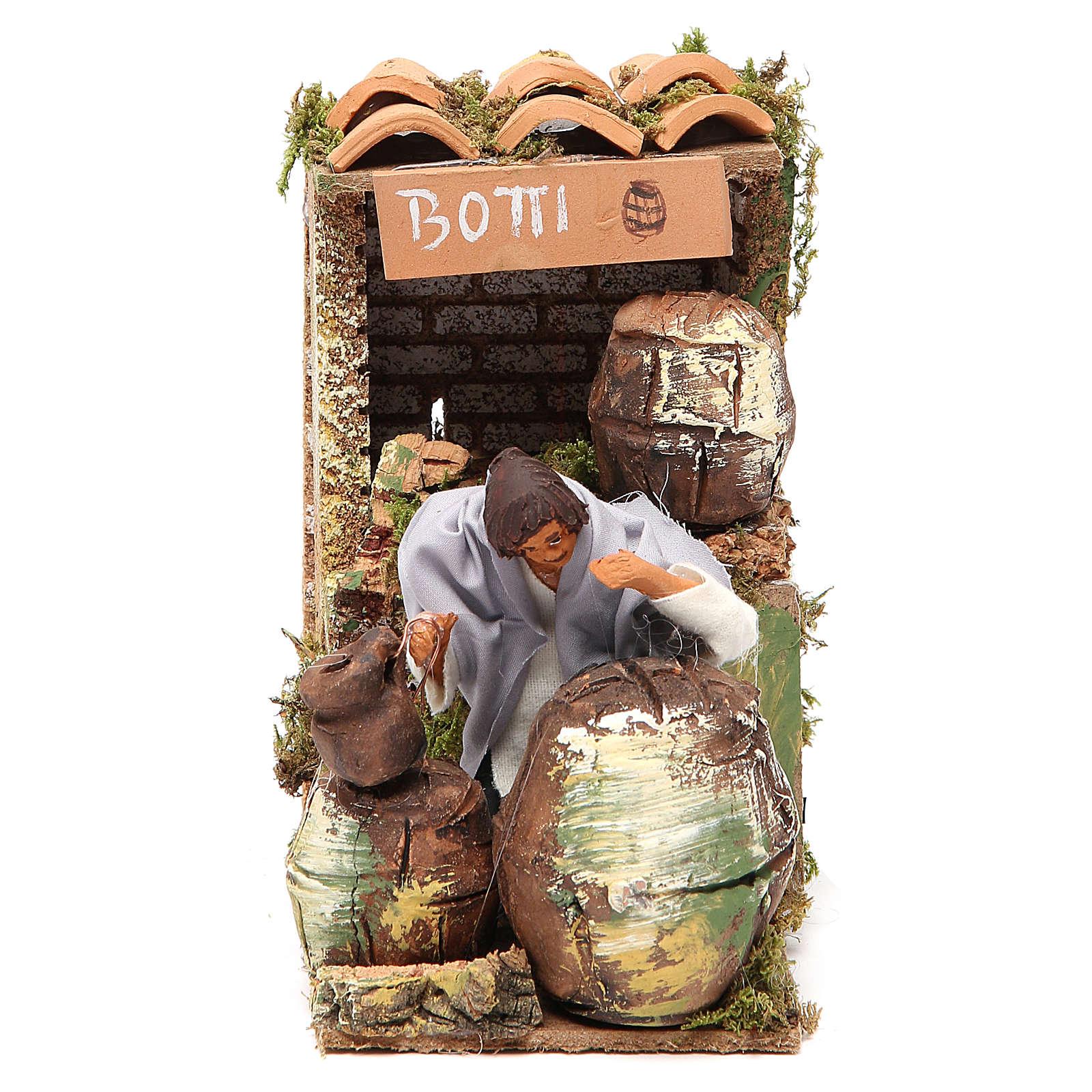 Animated nativity figurine 10cm Cooper 3