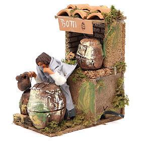Animated nativity figurine 10cm Cooper s2