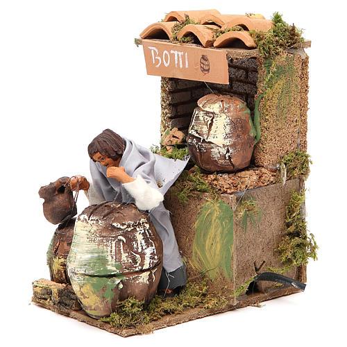 Animated nativity figurine 10cm Cooper 2