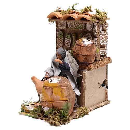 Animated nativity figurine 10cm Cooper 6
