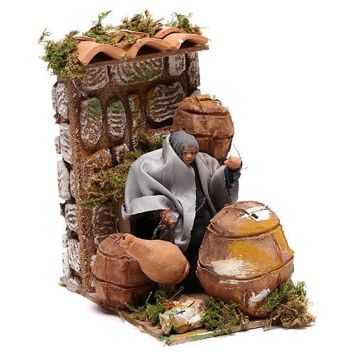 Animated nativity figurine 10cm Cooper 7