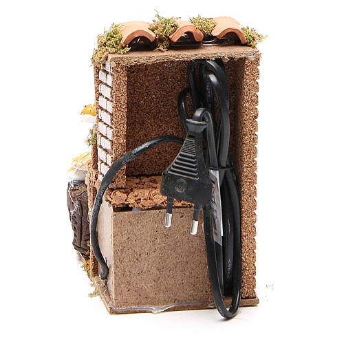 Bottega del pane 10 cm movimento presepe 4