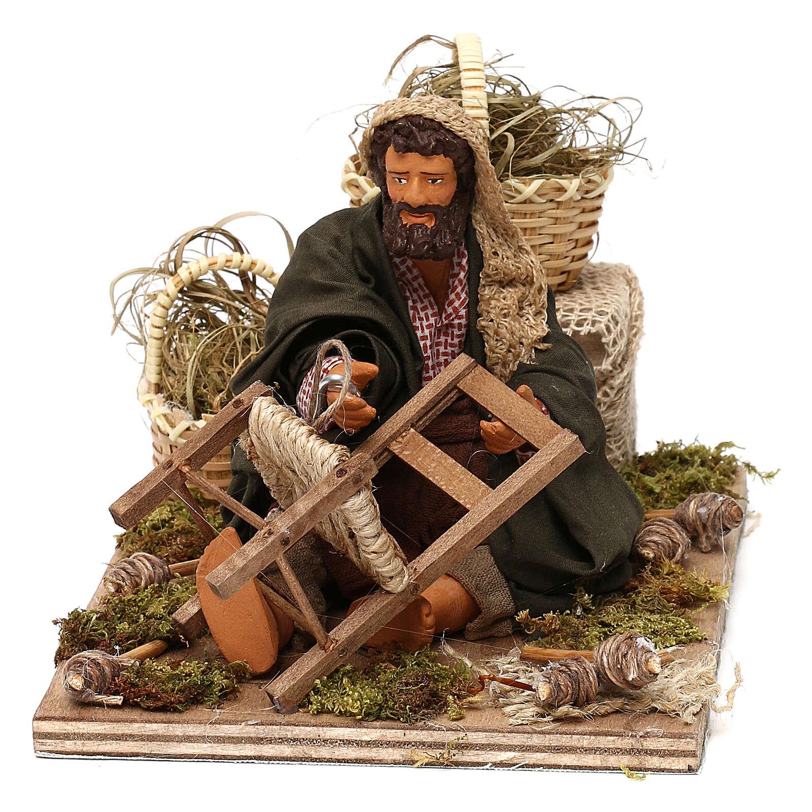 Chair fixer 14cm neapolitan animated Nativity 4