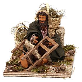 Chair fixer 14cm neapolitan animated Nativity s1