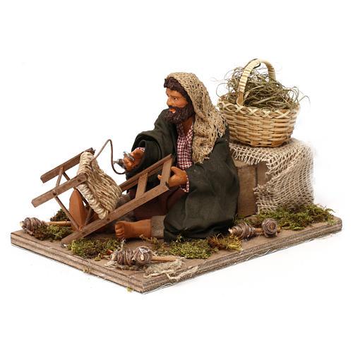 Chair fixer 14cm neapolitan animated Nativity 2