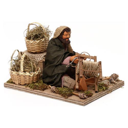 Chair fixer 14cm neapolitan animated Nativity 3