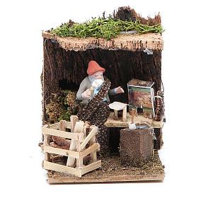 Nativity artist measuring 7cm, animated nativity figurine s1