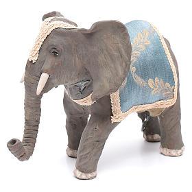 Elefante con movimento 12 cm presepe napoletano s2