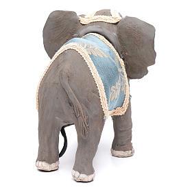 Elefante con movimento 12 cm presepe napoletano s4