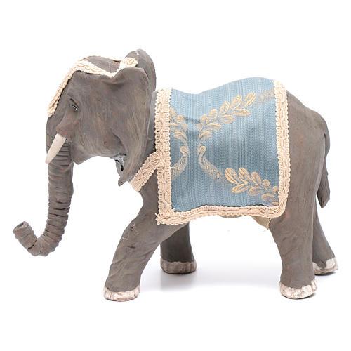 Elefante con movimento 12 cm presepe napoletano 1