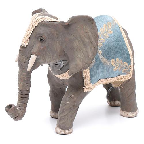 Elefante con movimento 12 cm presepe napoletano 2