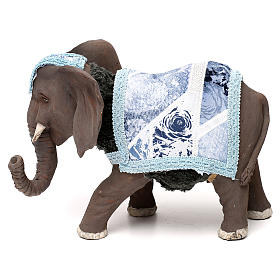 Presépio Napolitano: Elefante com movimento 12 cm presépio Nápoles