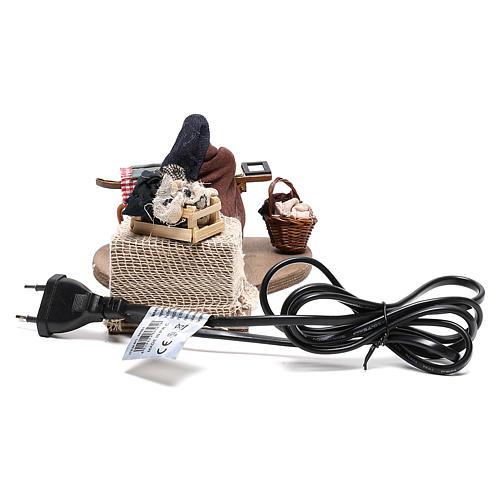 Woman ironing 10 cm  for Neapolitan nativity scene 5