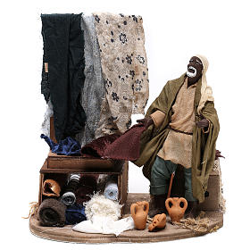 Moving draper 14 cm  for Neapolitan nativity scene s1