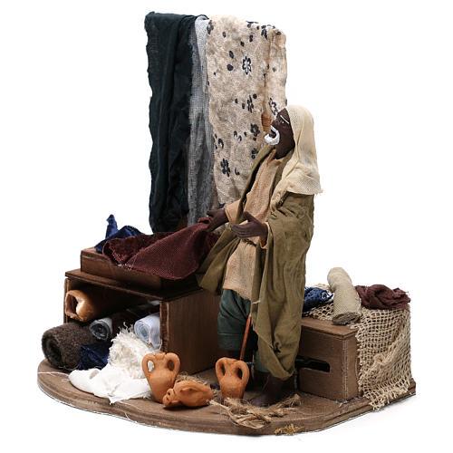 Moving draper 14 cm  for Neapolitan nativity scene 3