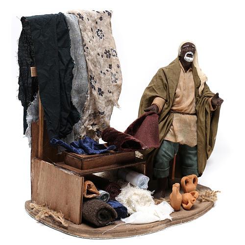 Moving draper 14 cm  for Neapolitan nativity scene 4