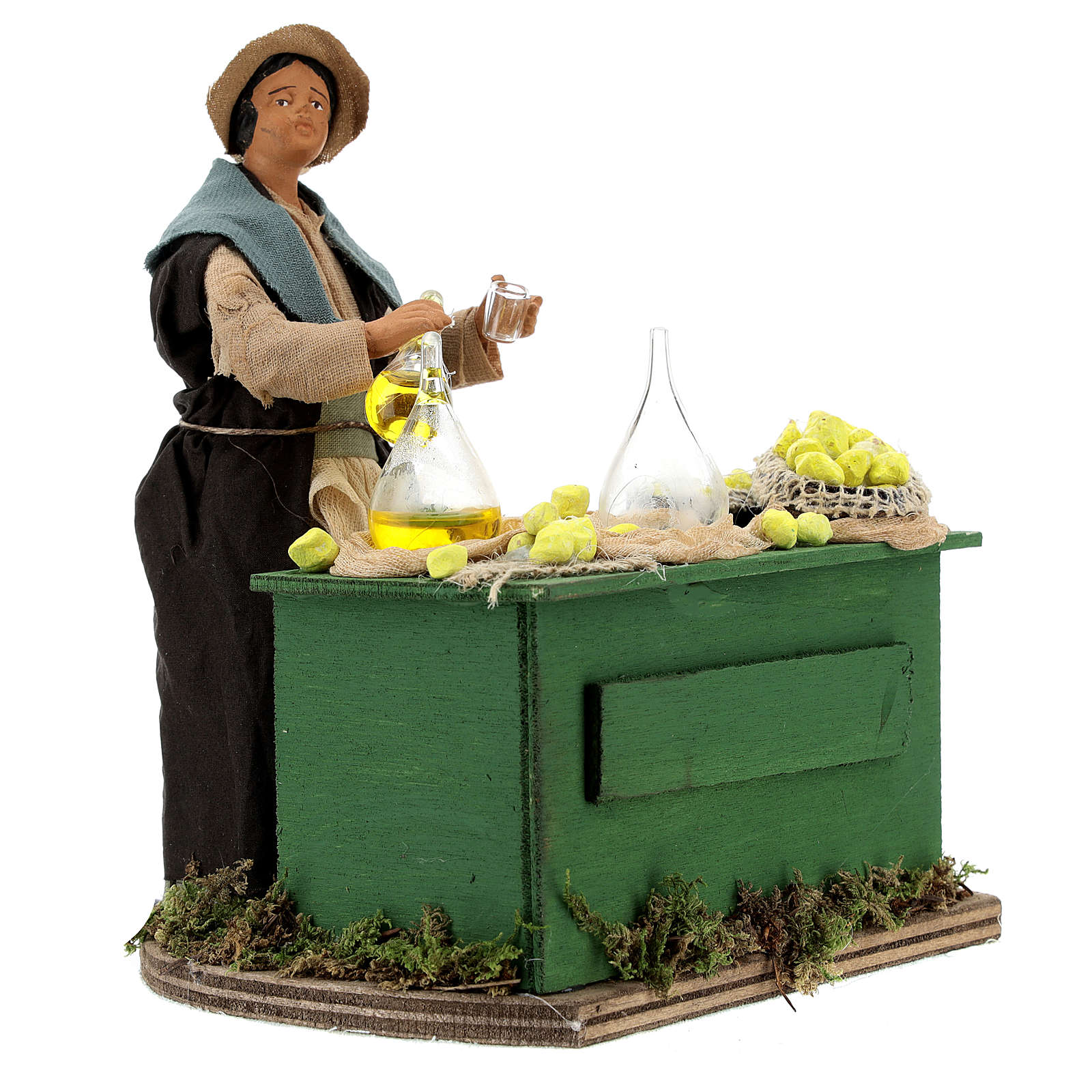 Moving lemon seller for Neapolitan nativity scene 4