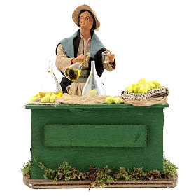 Moving lemon seller for Neapolitan nativity scene s1