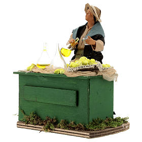 Moving lemon seller for Neapolitan nativity scene s3