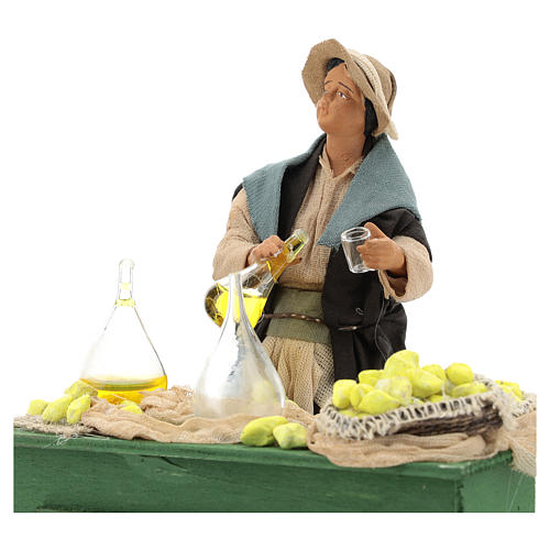 Moving lemon seller for Neapolitan nativity scene 2