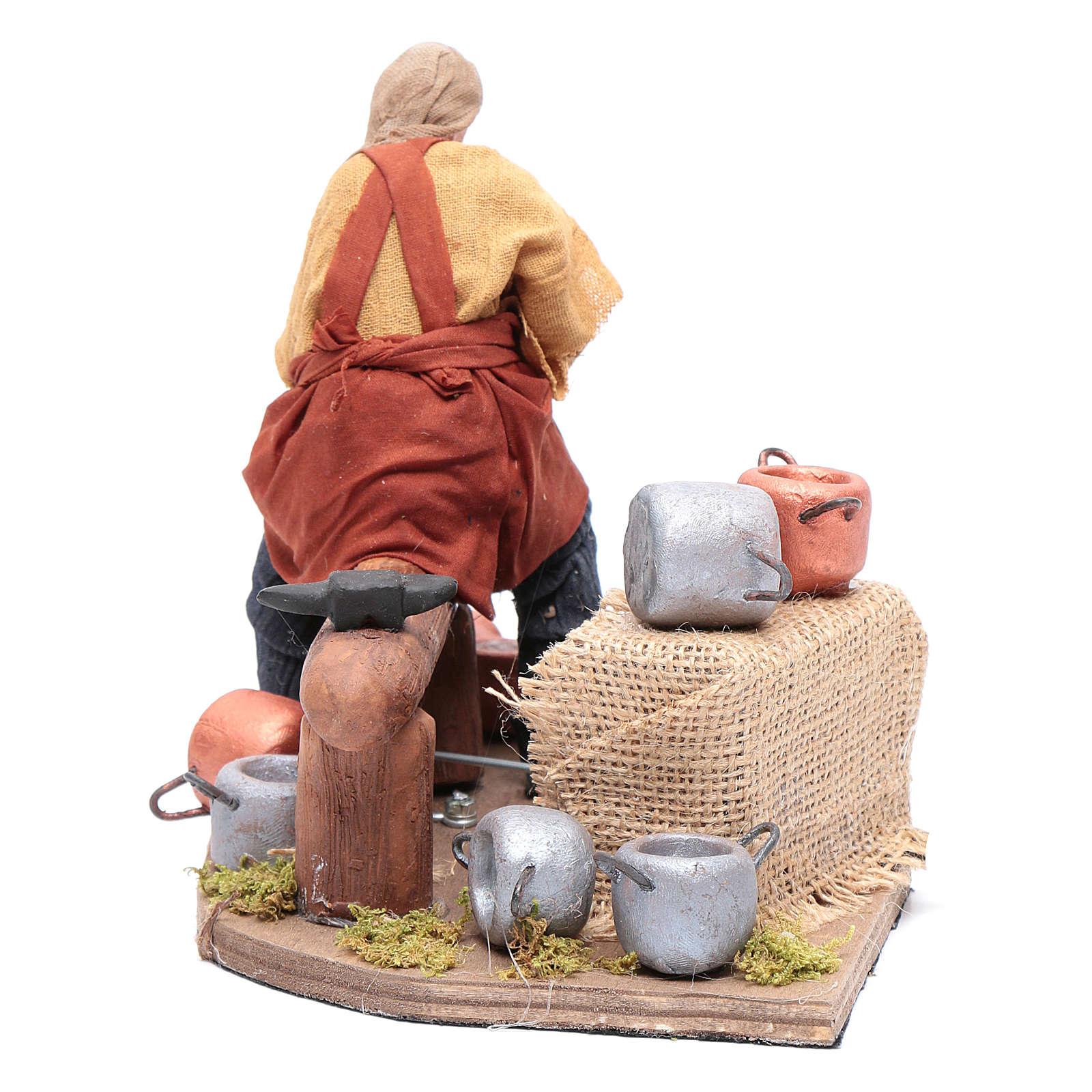 Moving pot fixer 14 cm for  Neapolitan nativity scene 4