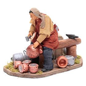 Moving pot fixer 14 cm for  Neapolitan nativity scene s2