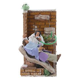 Figuras em Movimento para Presépio: Dentista 10 cm com movimento terracota