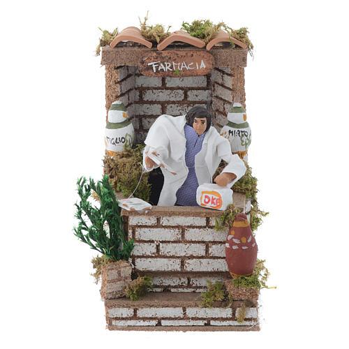 Farmacista 10 cm con movimento terracotta 1
