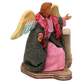 Moving angel 12 cm for Neapolitan nativity scene s2