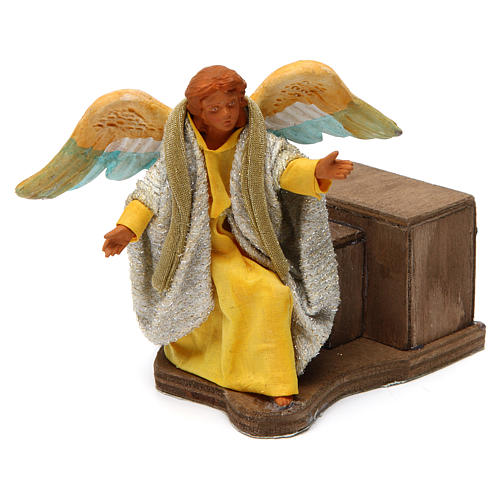 Movimento angelo 12 cm presepe napoletano 1
