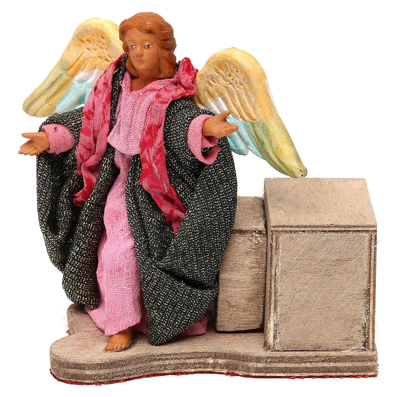 Anioł w ruchu 12 cm szopka neapolitańska 4