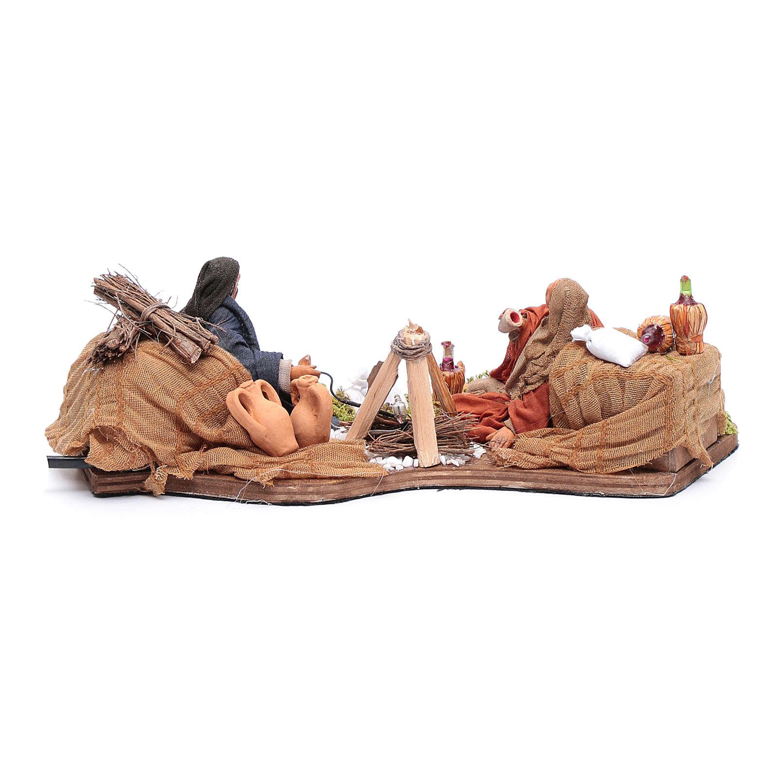 Moving bivouac series for nativity scene 4