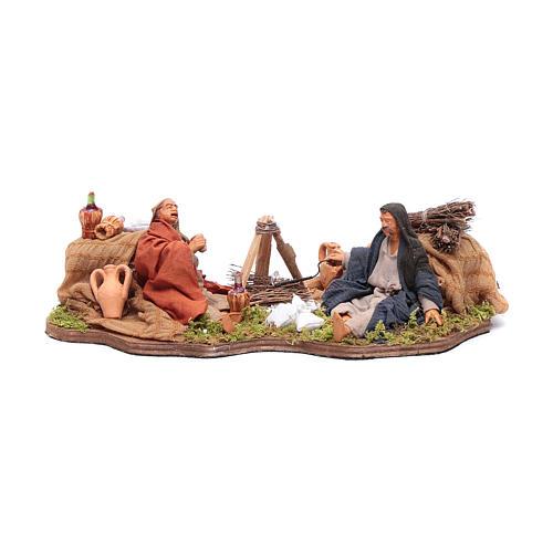 Moving bivouac series for nativity scene 1