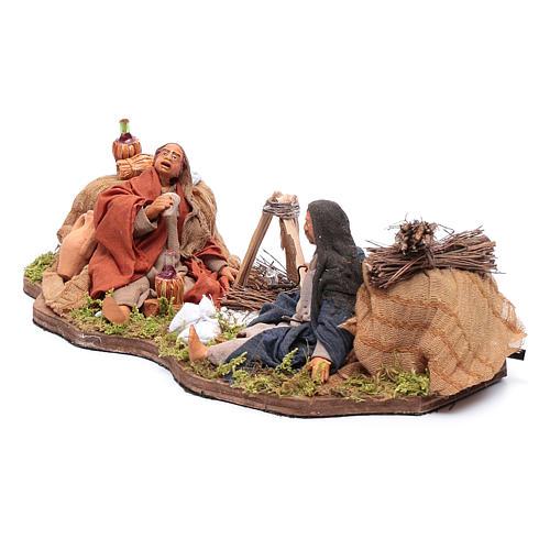 Moving bivouac series for nativity scene 2