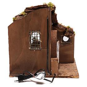 Moving carpenter 12 cm for nativity scene s6